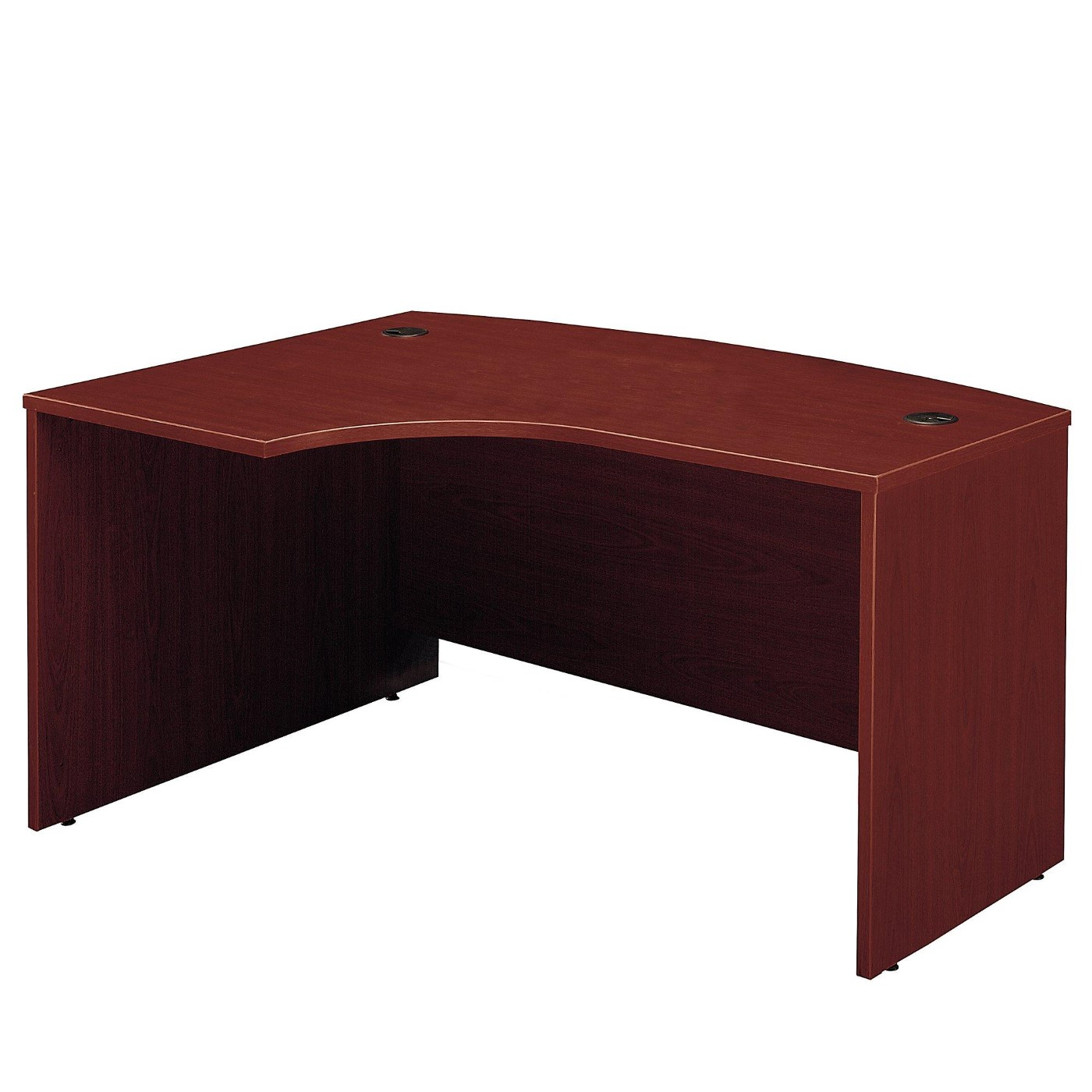 <font color=#c60><b>BUSH BUSINESS FURNITURE SERIES C 60W X 43D RIGHT HANDED L BOW DESK. FREE SHIPPING</font></b>