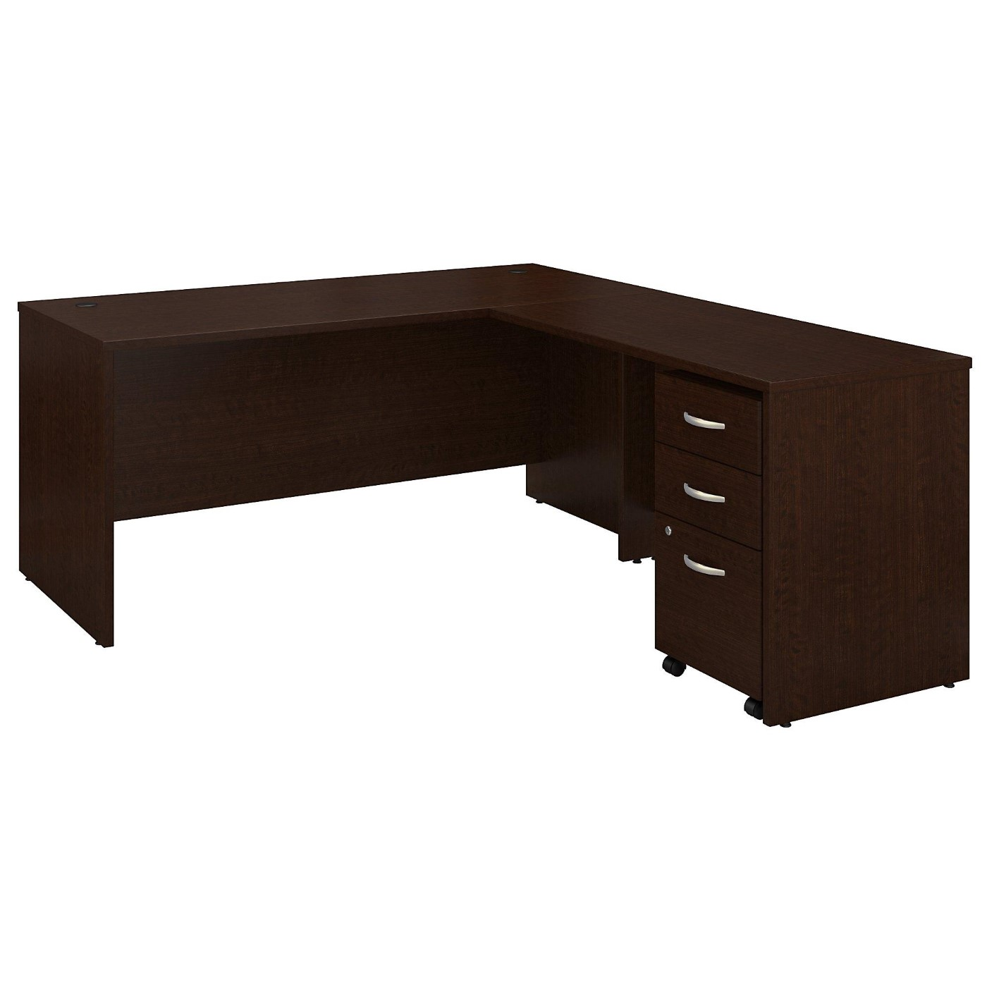 <font color=#c60><b>BUSH BUSINESS FURNITURE SERIES C 66W L SHAPED DESK WITH 48W RETURN AND MOBILE FILE CABINET. FREE SHIPPING</font></b></font></b>