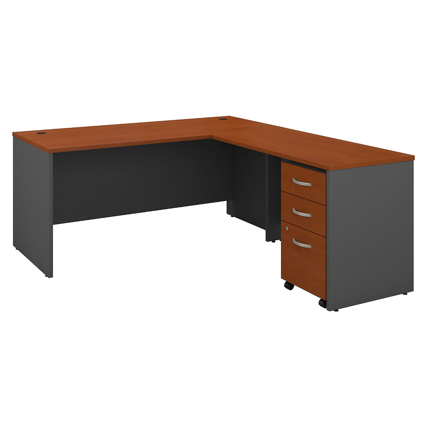 BUSH BUSINESS FURNITURE SERIES C 66W L SHAPED DESK WITH 48W RETURN AND MOBILE FILE CABINET. FREE SHIPPING</font></b></font>&#x1F384<font color=red><b>ERGONOMICHOME HOLIDAY SALE - ENDS DEC. 17, 2019</b></font>&#x1F384