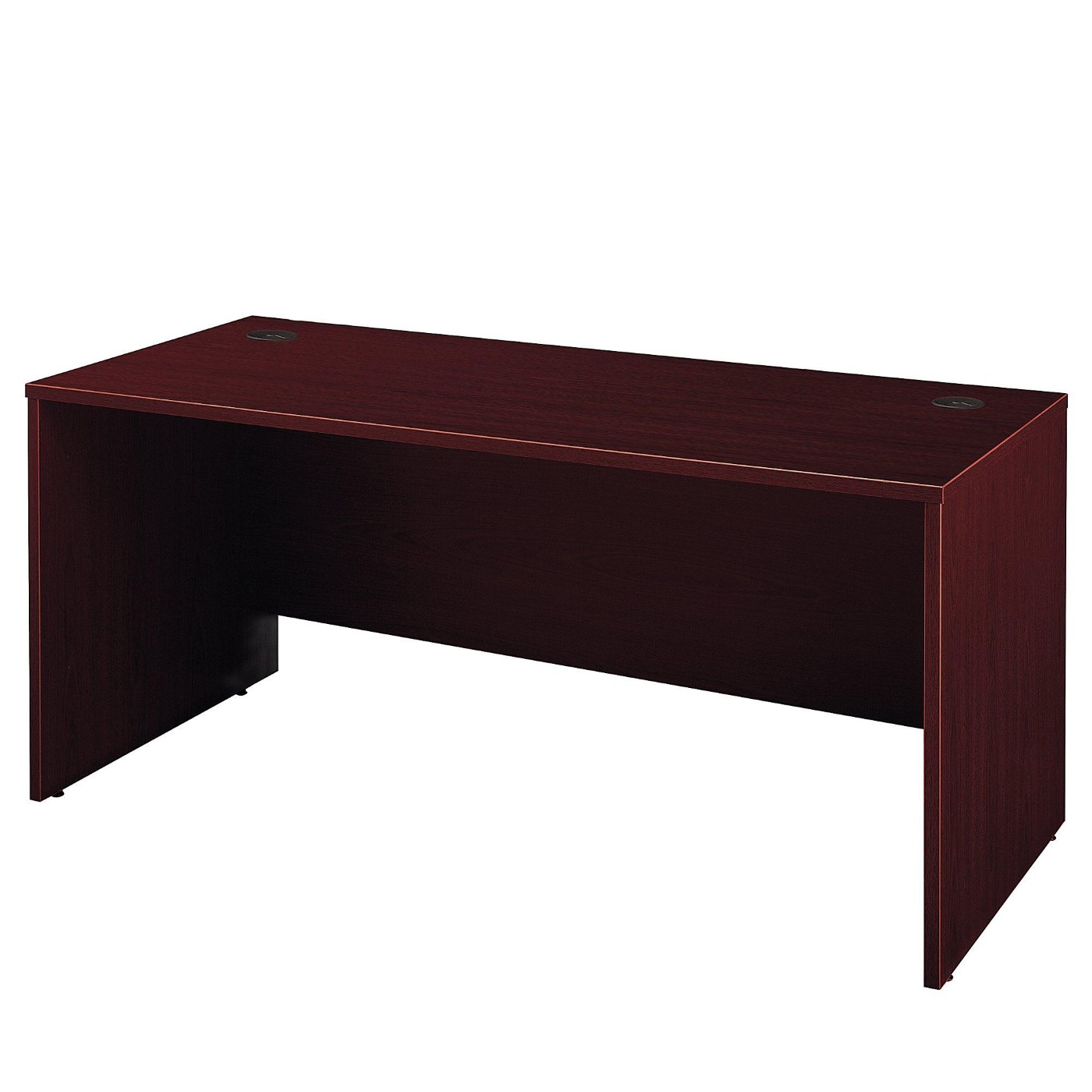 BUSH BUSINESS FURNITURE SERIES C 66W X 30D OFFICE DESK. FREE SHIPPING  VIDEO BELOW.
