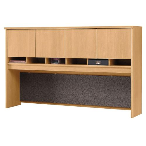 BUSH BUSINESS FURNITURE SERIES C 72W 4 DOOR HUTCH. FREE SHIPPING.  SALE DEDUCT 10% MORE ENTER '10percent' IN COUPON CODE BOX WHILE CHECKING OUT.