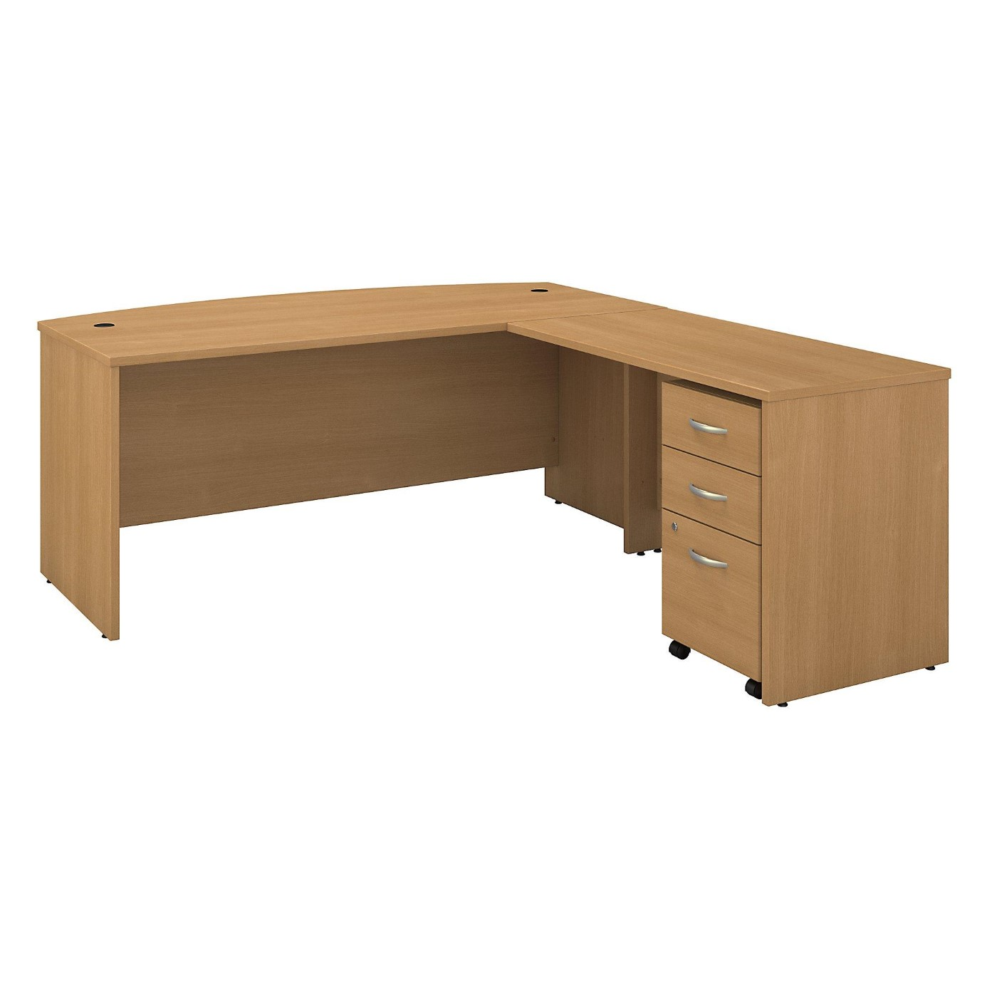 BUSH BUSINESS FURNITURE SERIES C 72W BOW FRONT L SHAPED DESK WITH 48W RETURN AND MOBILE FILE CABINET. FREE SHIPPING</font></b></font>&#x1F384<font color=red><b>ERGONOMICHOME HOLIDAY SALE - ENDS DEC. 17, 2019</b></font>&#x1F384