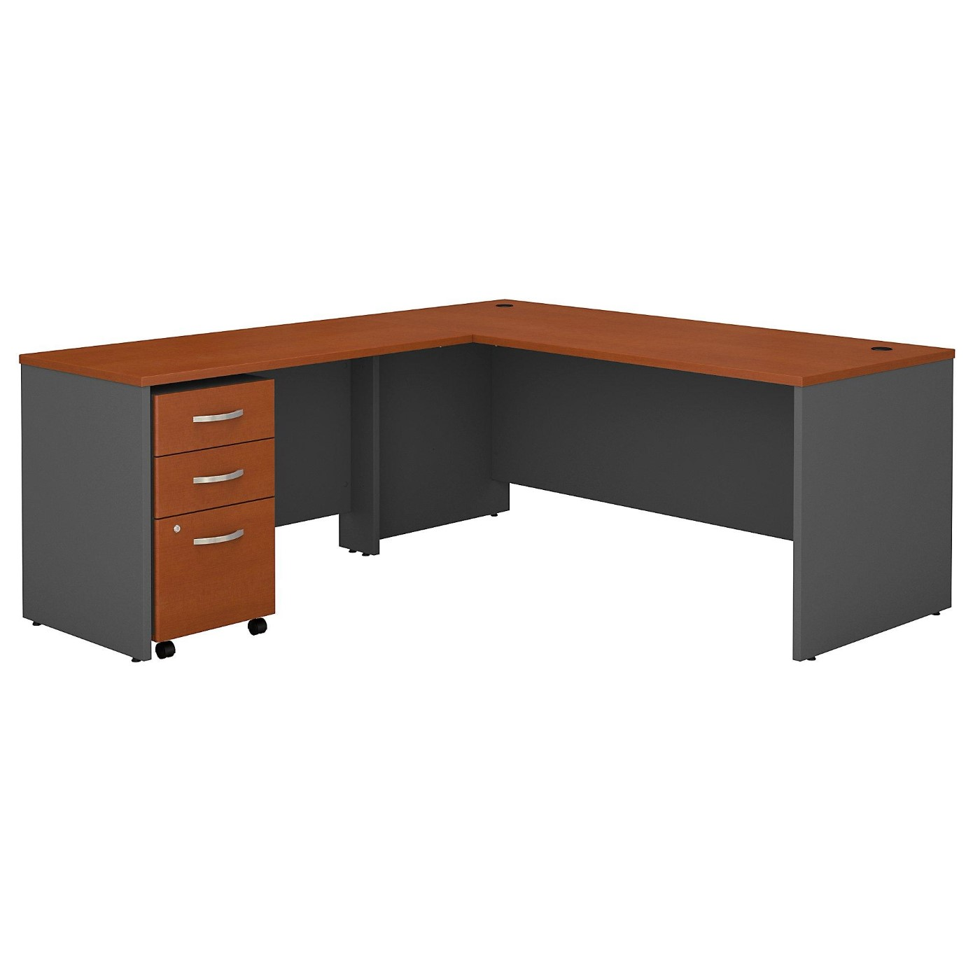 BUSH BUSINESS FURNITURE SERIES C 72W L SHAPED DESK WITH 48W RETURN AND MOBILE FILE CABINET. FREE SHIPPING</font></b></font>&#x1F384<font color=red><b>ERGONOMICHOME HOLIDAY SALE - ENDS DEC. 17, 2019</b></font>&#x1F384