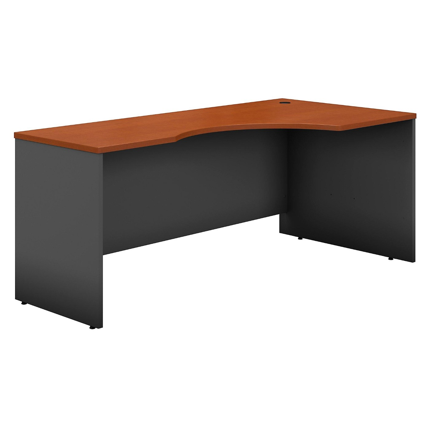 BUSH BUSINESS FURNITURE SERIES C 72W LEFT HANDED CORNER DESK. FREE SHIPPING.
