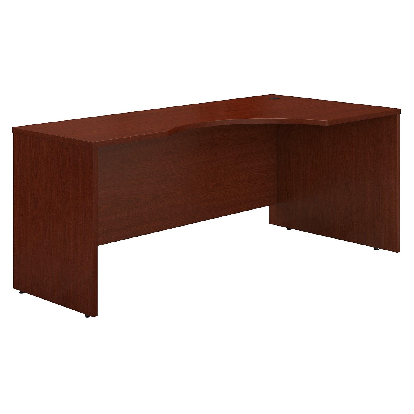 BUSH BUSINESS FURNITURE SERIES C 72W LEFT HANDED CORNER DESK. FREE SHIPPING  VIDEO BELOW.