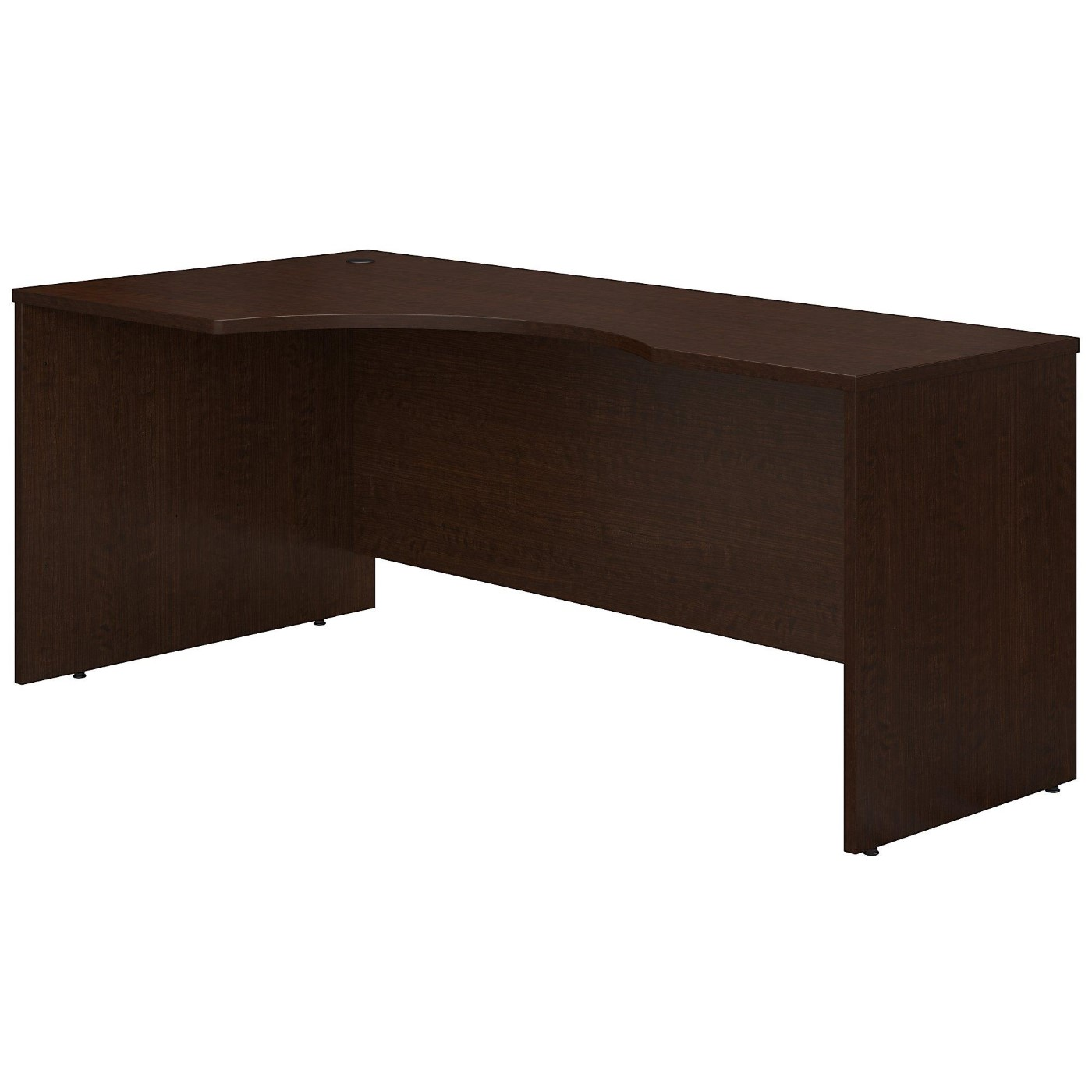 BUSH BUSINESS FURNITURE SERIES C 72W RIGHT HANDED CORNER DESK. FREE SHIPPING.