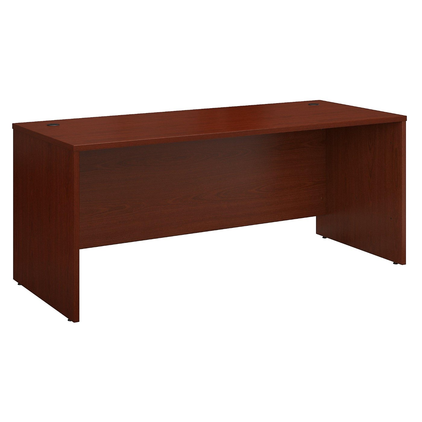 BUSH BUSINESS FURNITURE SERIES C 72W X 30D OFFICE DESK. FREE SHIPPING  VIDEO BELOW.