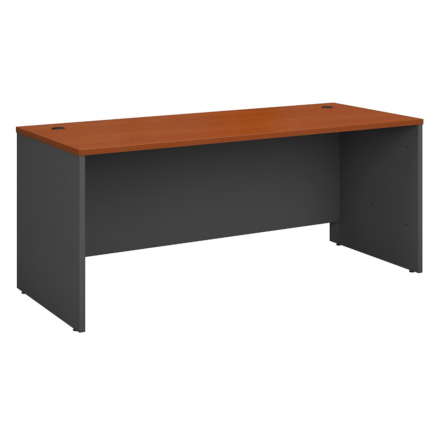 BUSH BUSINESS FURNITURE SERIES C 72W X 30D OFFICE DESK. FREE SHIPPING.
