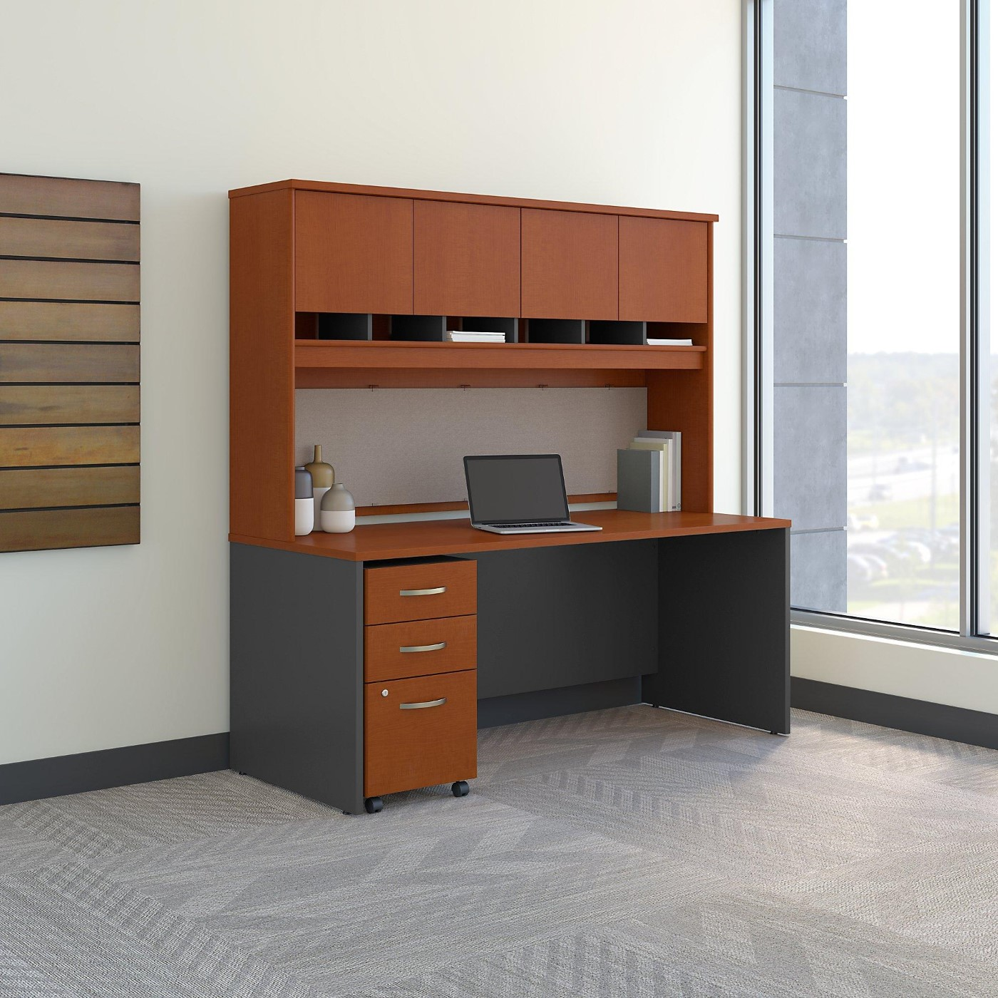 Office Furniture Free Shipping: Bush Business Furniture Series C 72W X 30D Office Desk