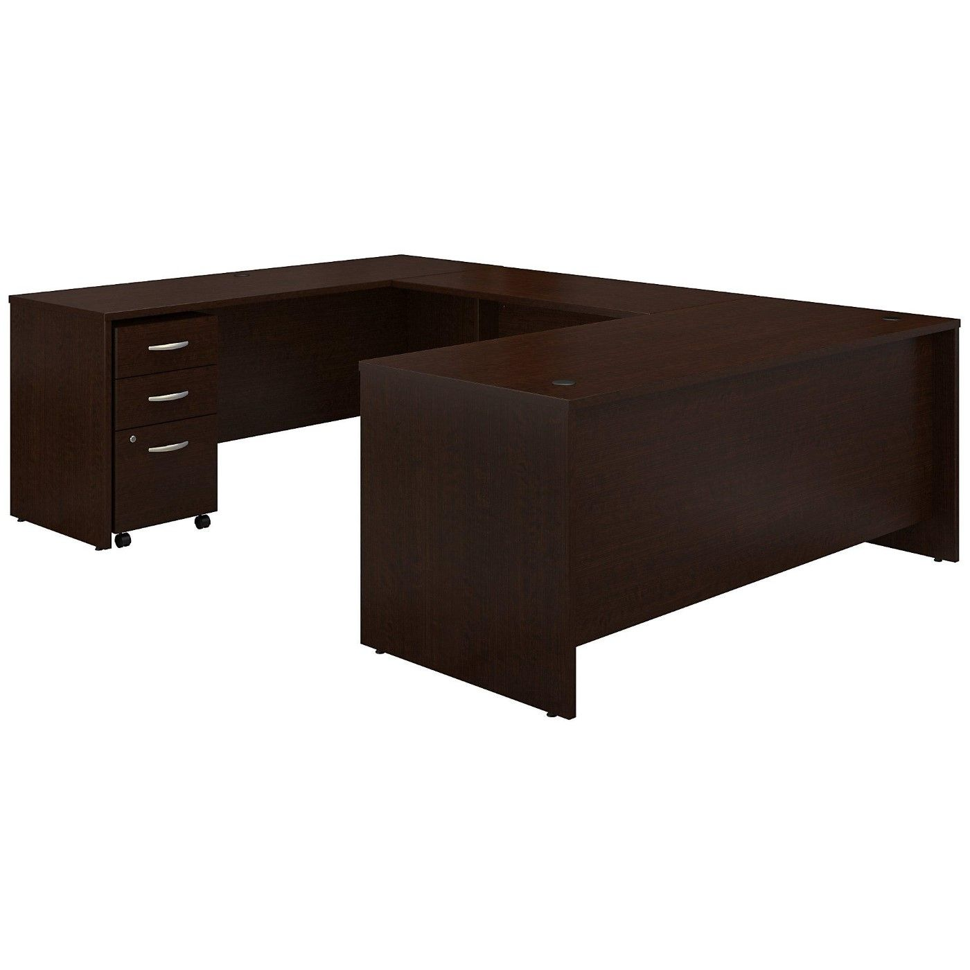 <font color=#c60><b>BUSH BUSINESS FURNITURE SERIES C 72W X 30D U SHAPED DESK WITH MOBILE FILE CABINET. FREE SHIPPING</font></b></font></b>