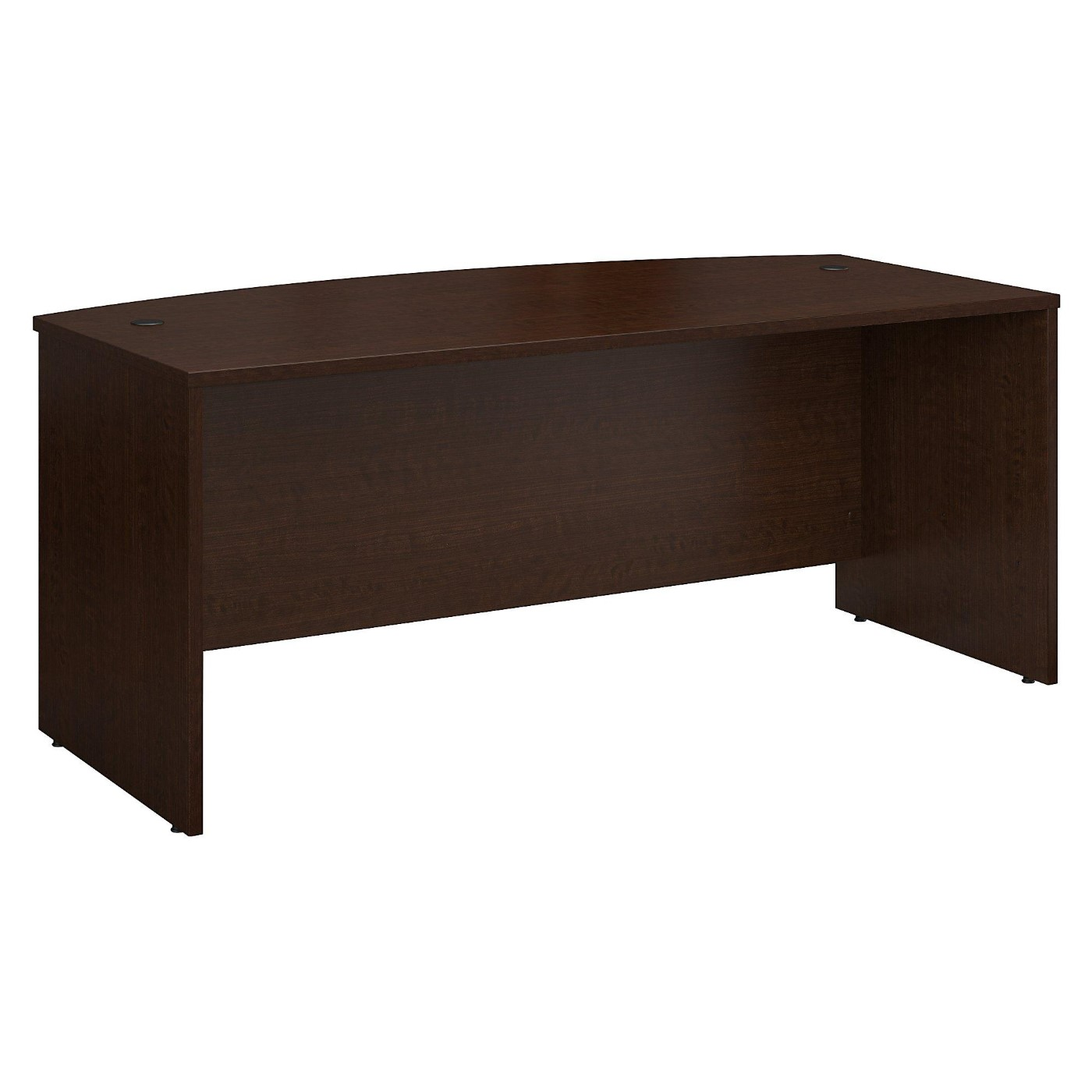 BUSH BUSINESS FURNITURE SERIES C 72W X 36D BOW FRONT DESK. FREE SHIPPING</font></b></font>&#x1F384<font color=red><b>ERGONOMICHOME HOLIDAY SALE - ENDS DEC. 17, 2019</b></font>&#x1F384