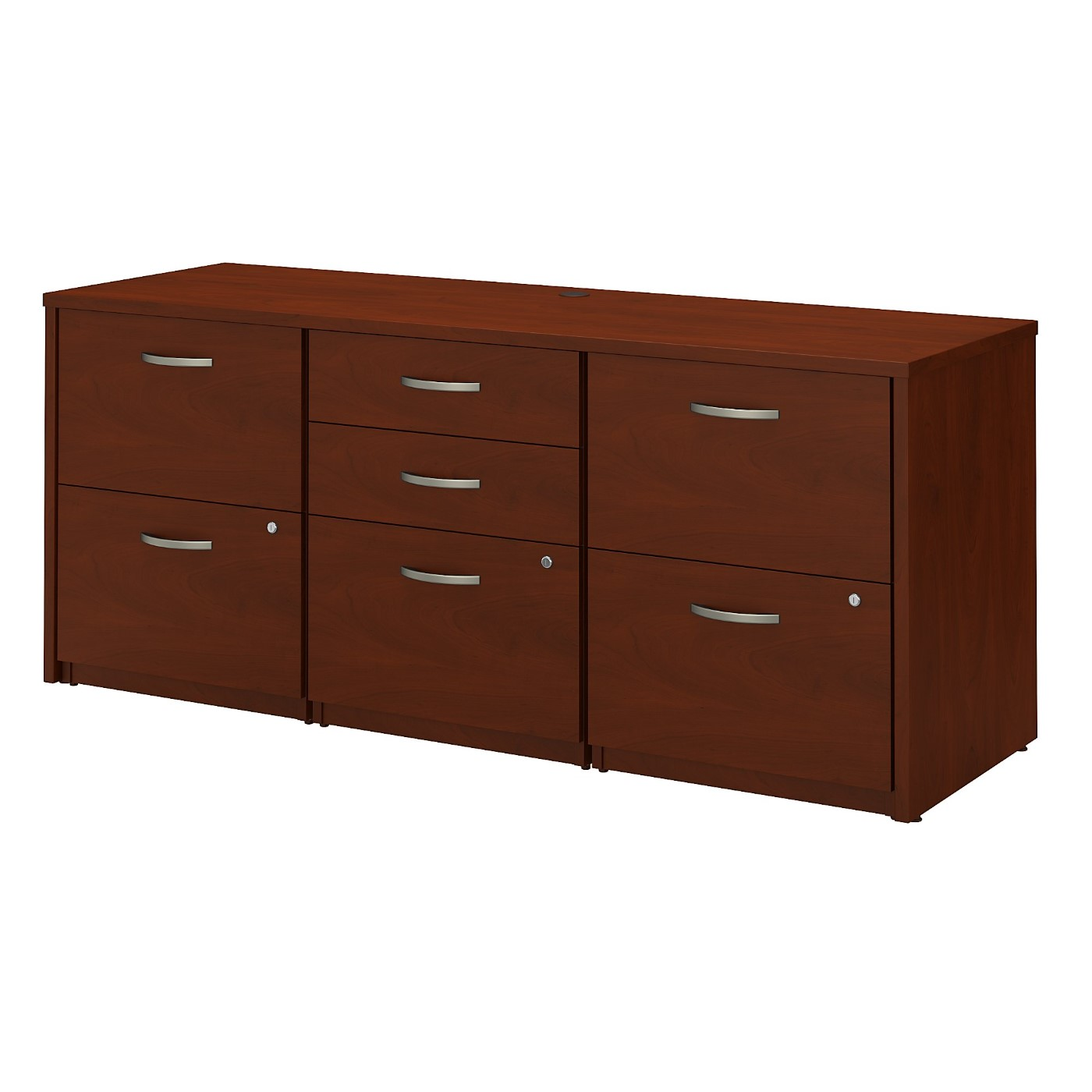 <font color=#c60><b>BUSH BUSINESS FURNITURE SERIES C ELITE STORAGE CREDENZA. FREE SHIPPING|TAA COMPLIANT|AMERICAN MADE 30H x 72L x 72W</font></b>
