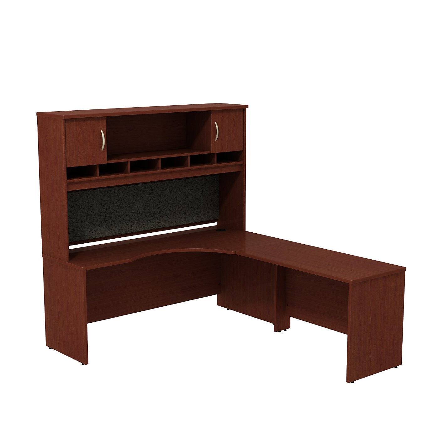 BUSH BUSINESS FURNITURE SERIES C RIGHT HANDED CORNER L SHAPED DESK WITH HUTCH. FREE SHIPPING SALE DEDUCT 10% MORE ENTER '10percent' IN COUPON CODE BOX WHILE CHECKING OUT.