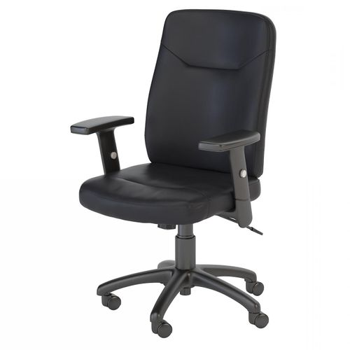 <font color=#c60><b>BUSH BUSINESS FURNITURE STANTON HIGH BACK LEATHER EXECUTIVE OFFICE CHAIR. FREE SHIPPING</font></b> </font></b>