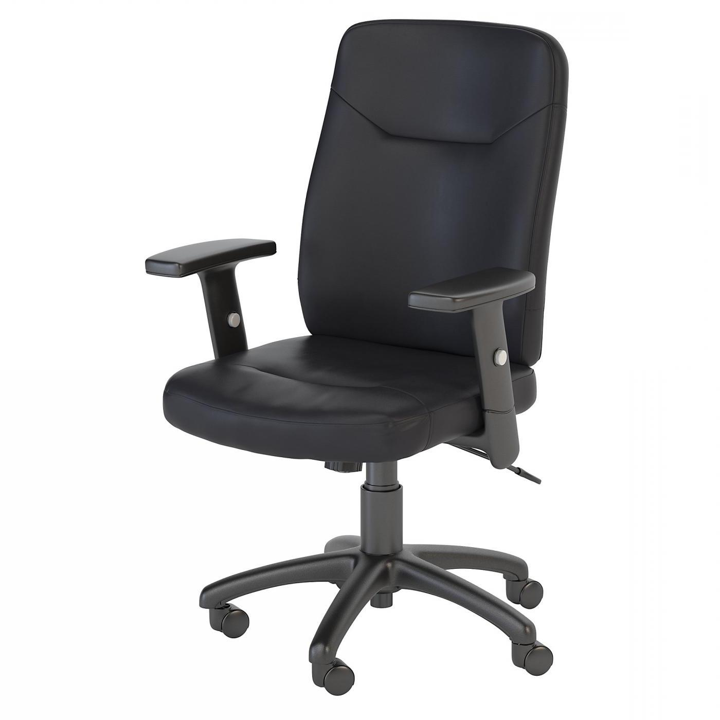 <font color=#c60><b>BUSH BUSINESS FURNITURE STANTON HIGH BACK LEATHER EXECUTIVE OFFICE CHAIR. FREE SHIPPING</font></b> </font></b></font></b>