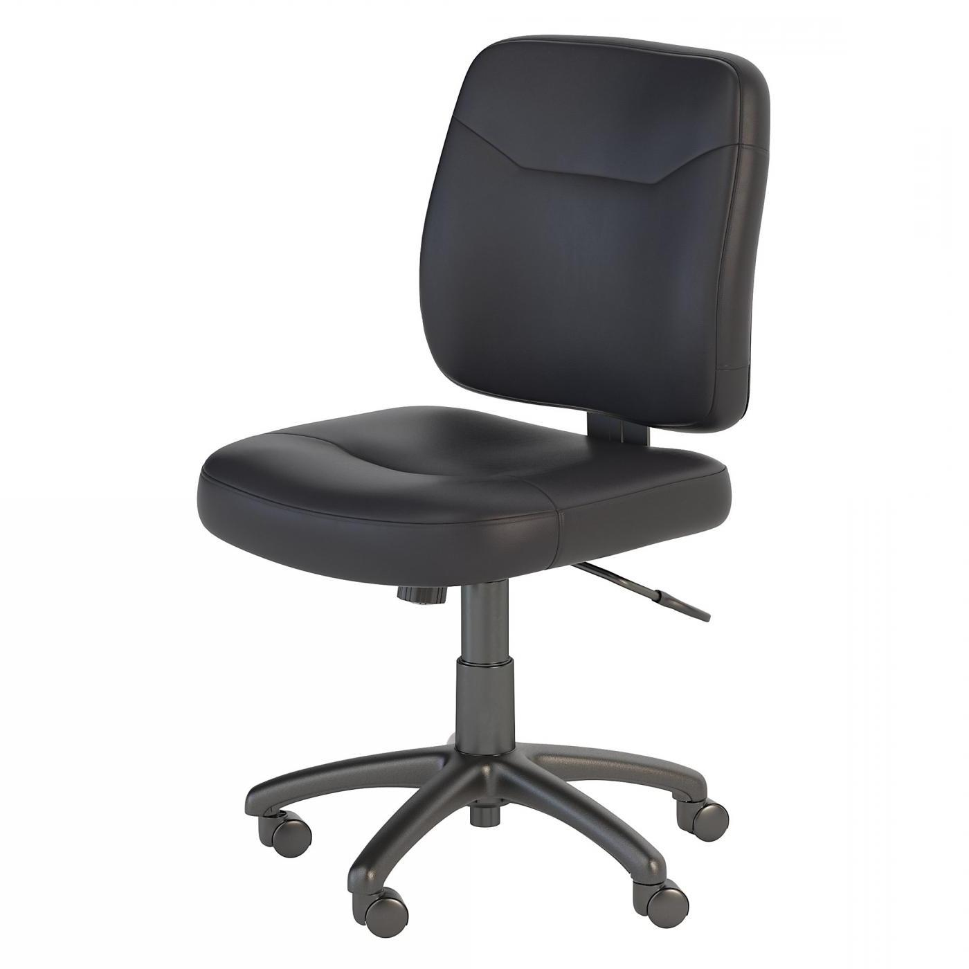 <font color=#c60><b>BUSH BUSINESS FURNITURE STANTON LEATHER TASK CHAIR. FREE SHIPPING</font></b> </font></b>