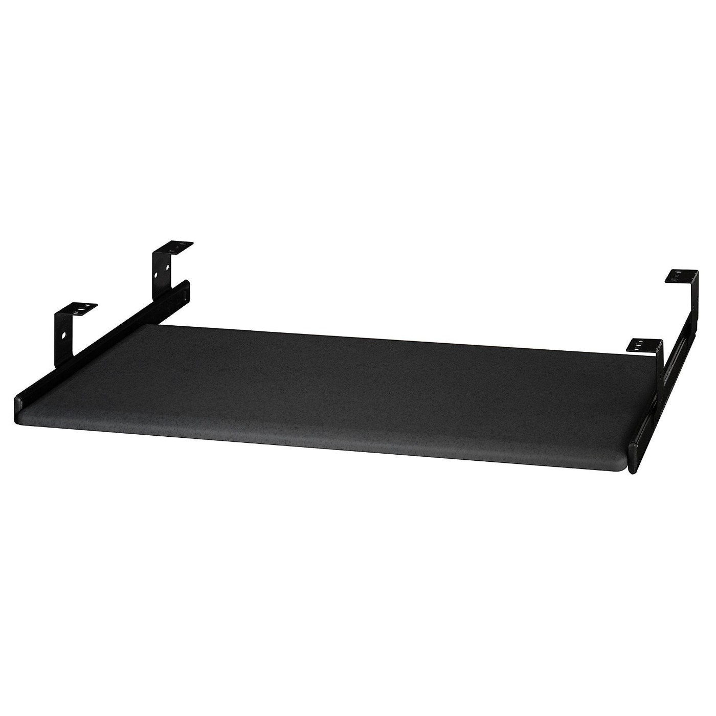 BUSH BUSINESS FURNITURE UNIVERSAL KEYBOARD SHELF. FREE SHIPPING.