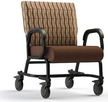 <b><font color=#c60>COMFORTEK TITAN ASSISTED LIVING BARIATRIC CHAIR W/CASTERS #941-30. FRAME RATED AT 600LBS:</b></font>