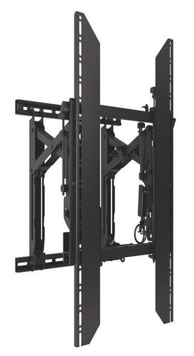 ConnexSys Video Wall Portrait Mounting System with Rails.