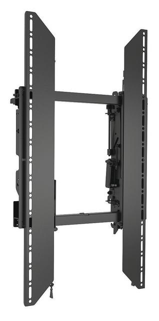 ConnexSys Video Wall Portrait Mounting System without Rails.
