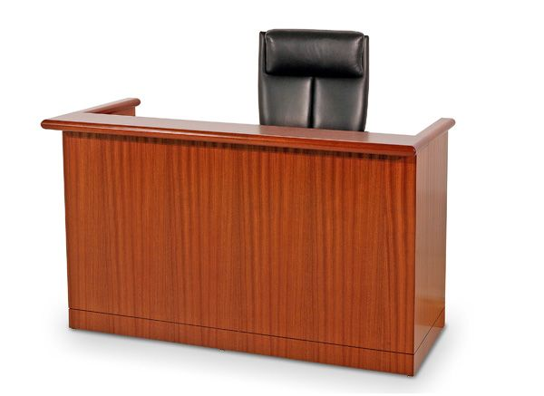 JUDGES DESK. COURTROOM BENCH. CONTEMPORARY, TRANSITIONAL, TRADITIONAL.