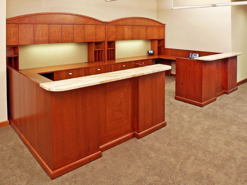 LEGAL WOOD OFFICE FURNITURE WORKSTATIONS CUSTOM DESIGNED: