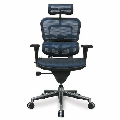 ERGOHUMAN HIGH BACK MESH CHAIR BLUE. ITEM: EH-ME7ERG-BLU. QUANTITY DISCOUNTS FROM 47% To 50% OFF MSRP W/FREE SHIPPING!