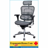 <font color=#8a8a8a>ERGOHUMAN HIGH-BACK MESH CHAIR EH-ME7ERG GREY. FREE SHIPPING:</font>