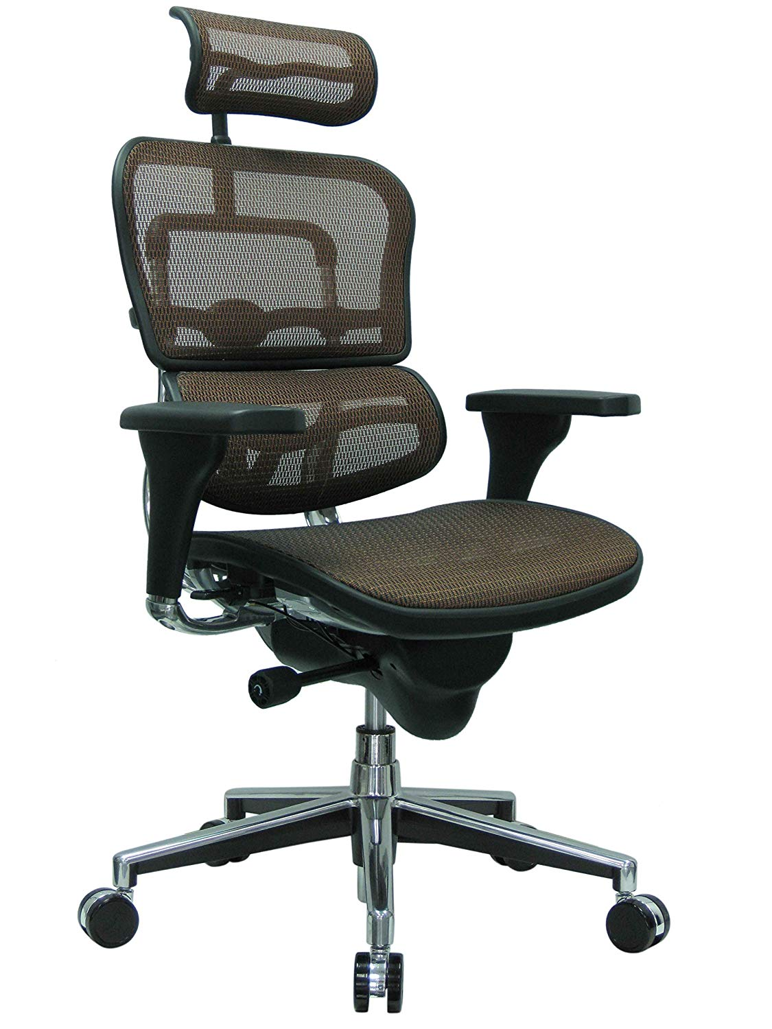 <font color=#c58b4a>ERGOHUMAN HIGH-BACK MESH CHAIR EH-ME7ERG ORANGE</font>