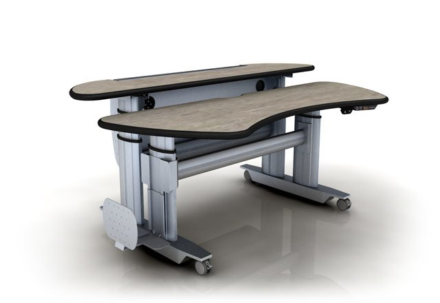 "</b></font>ERGONOMIC HOME ADJUSTABLE RADIOLOGY TABLE DESK W/DUAL SURFACES #ERGOPACS-ST3E-BL. DIMENSIONS: 65"" x 45""</font>. <p>RATING:&#11088;&#11088;&#11088;</b></font></b>"