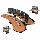 ERGONOMIC HOME: CONTROL ROOM CONSOLES. COMMAND CENTER DESKS: