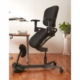 <font color=#c60><b>ERGONOMIC HOME HEALTH POSTURES STANCE ANGLE CHAIR.  MADE IN USA 100% TAA COMPLIANT. FREE SHIPPING:</b></font>