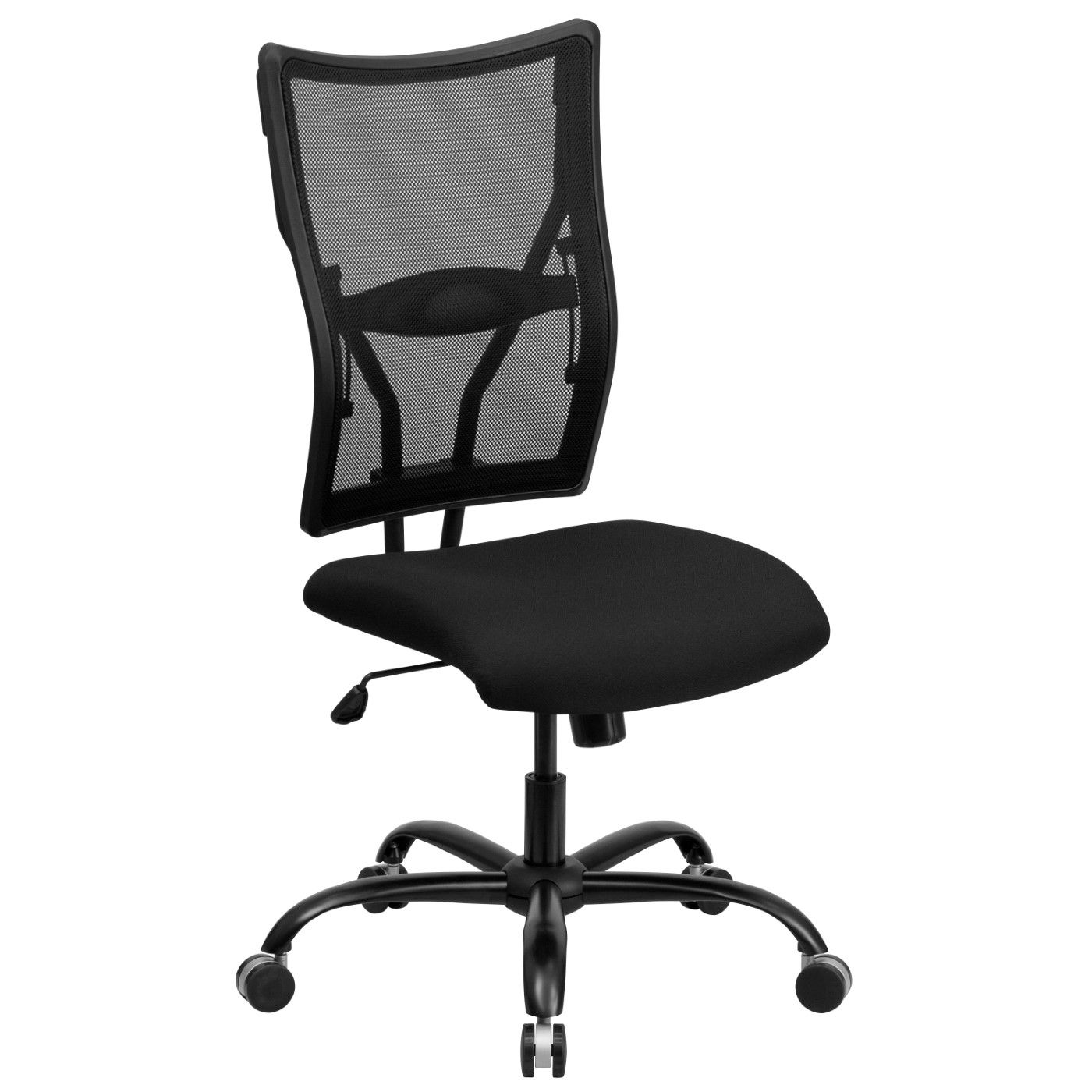 TOUGH ENOUGH Series Big & Tall 400 lb. Rated Black Mesh Executive Swivel Ergonomic Office Chair