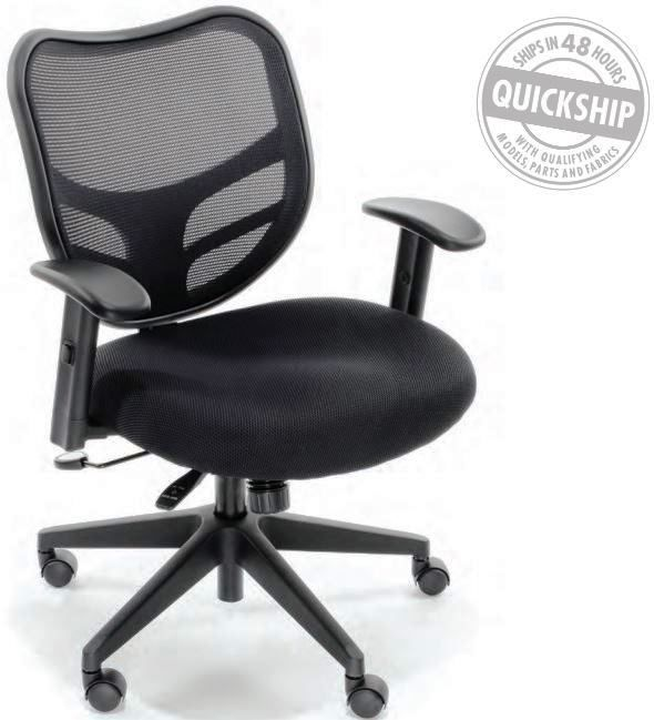 RFM ESSENTIALS MESH BACK CHAIR #160-Q-TASK. A GOOD FIT FOR EVERYBODY, LIKE YOU! SHIPS 3-4 BIZ DAYS. ADD TO CART FOR FREE SHIPPING.