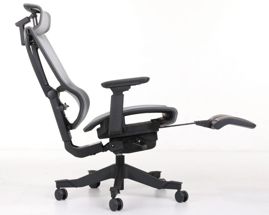 <b>ERGONOMIC HOME MISSION MESH OFFICE CHAIR W/ HEADREST AND W/FOOTREST. </b>