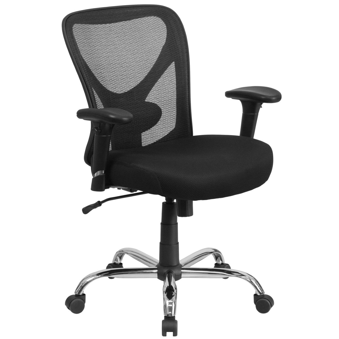 Big & Tall Office Chair|Adjustable Height Mesh Swivel Office Chair with Wheels