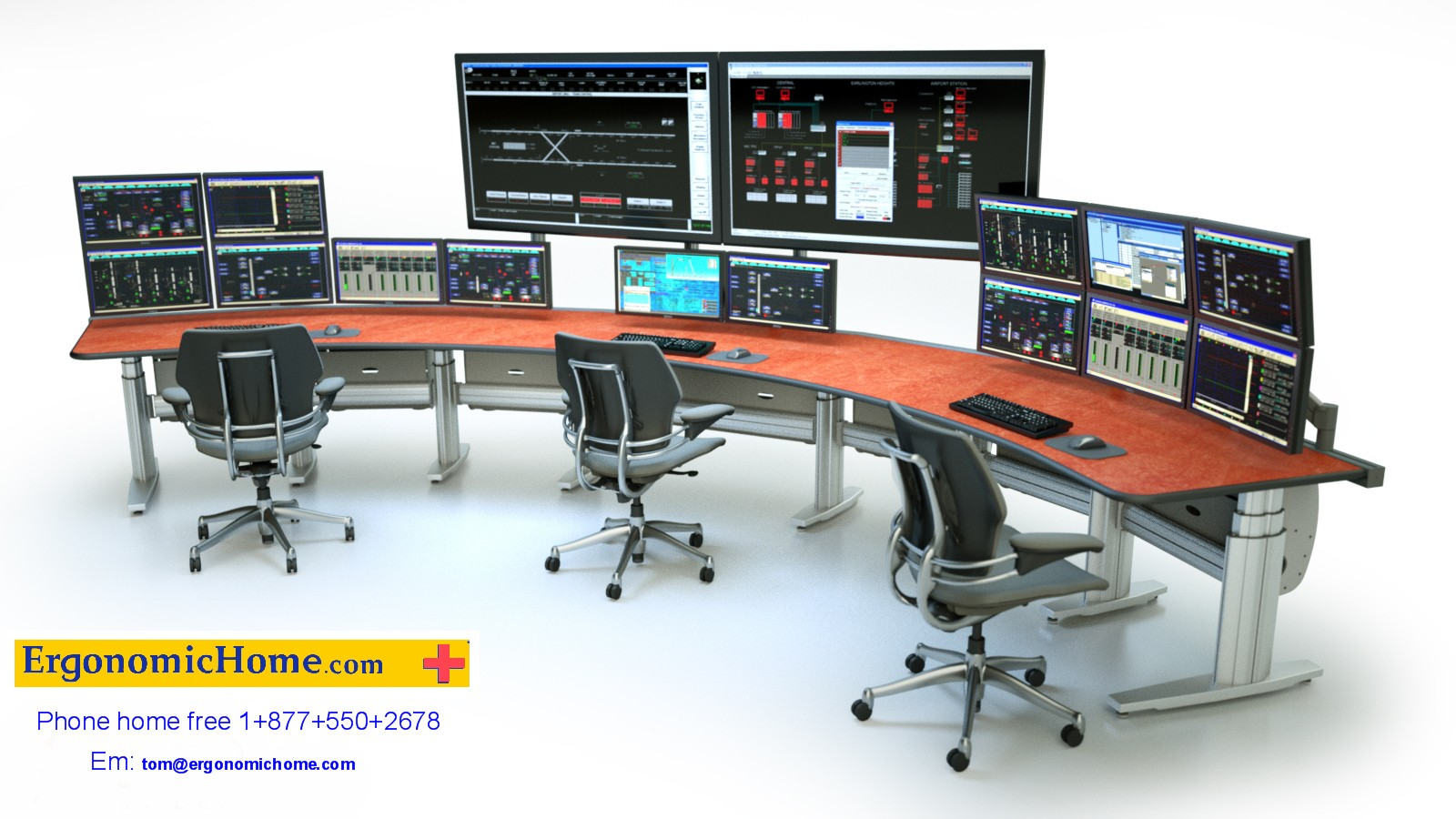 ERGONOMIC HOME TBC ADJUSTABLE BROADCAST CONSOLE #452639712. FREE SHIPPING. <font color=#c60>READ MORE.</font>&#x1F384<font color=red><b>ERGONOMICHOME HOLIDAY SALE</b></font>&#x1F384