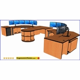 ERGONOMICHOME.com DISPATCH 911 CONTROL ROOM CONSOLES. 40 YEARS EXPERIENCE.