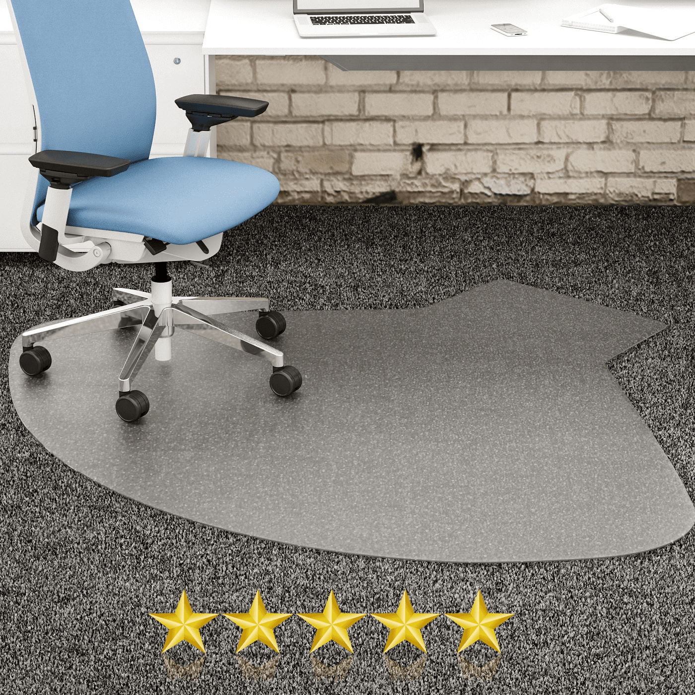 FLOORMATS: TEAR DROP SHAPED. MINIMUM 7 PER ORDER FOR FREE SHIPPING.