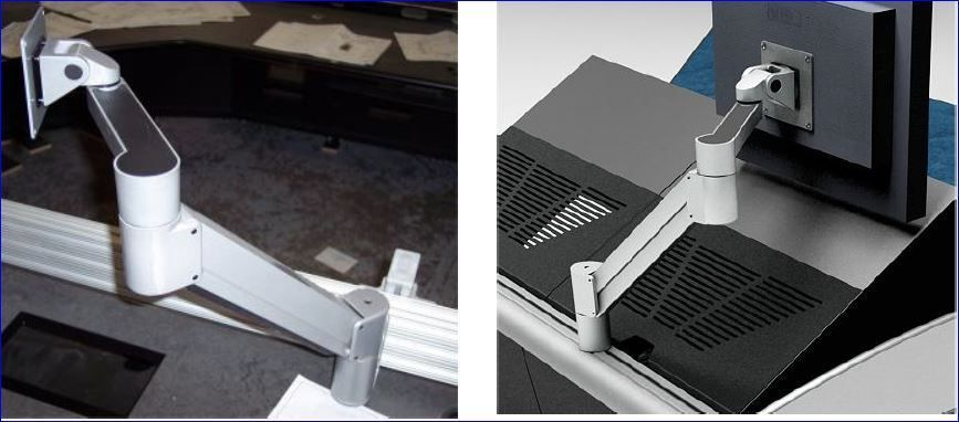 FP-7500: Mount Monitor Arm For Use With TBC Consoles Only.