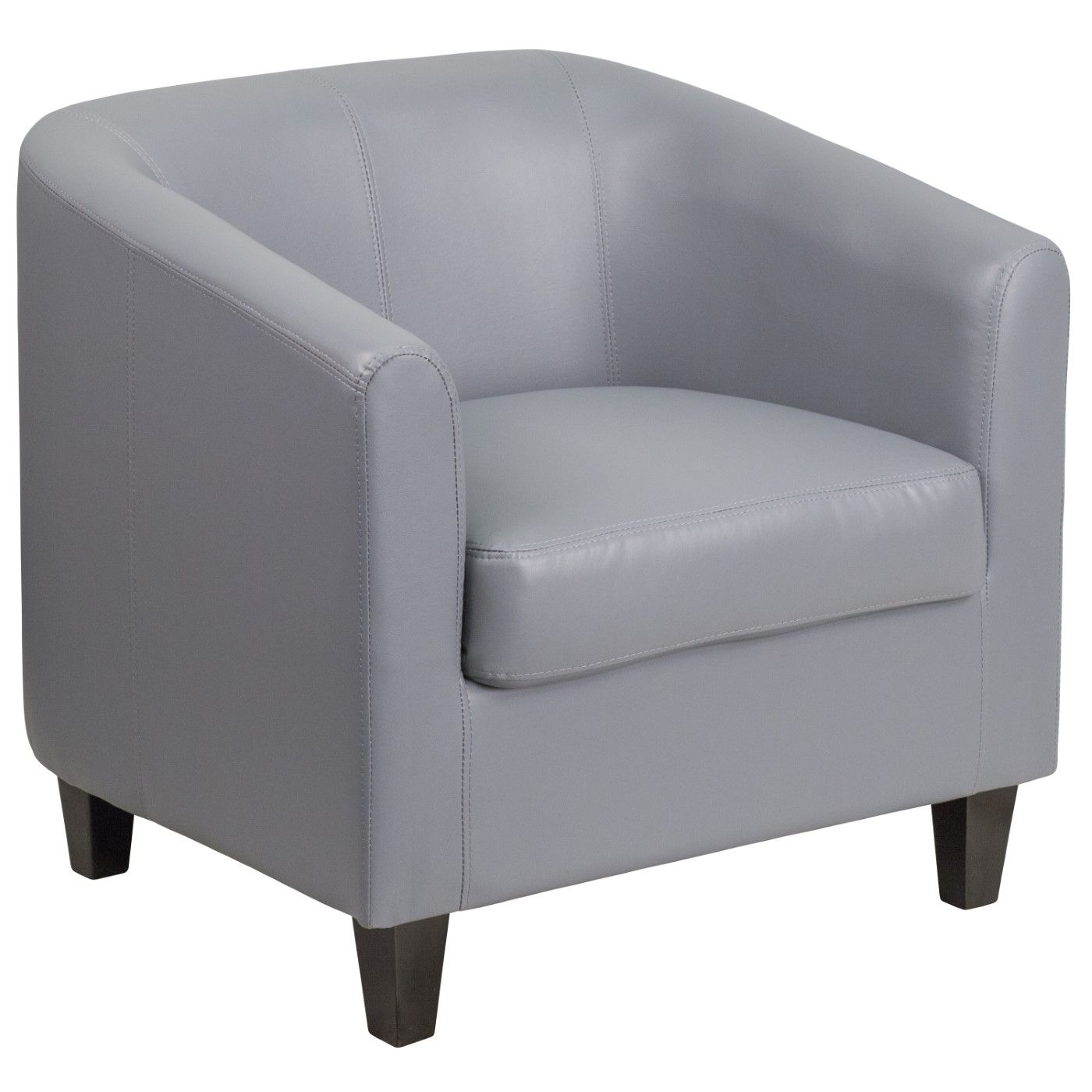 Gray LeatherSoft Lounge Chair