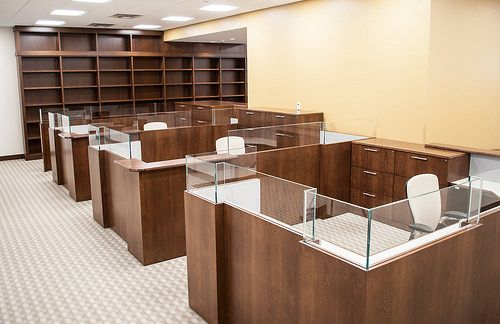 LEGAL WOOD OFFICE FURNITURE WORKSTATIONS