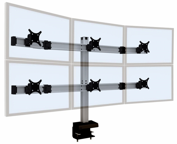 "<font color=#c60>INNOVATIVE BILD ADJUSTABLE MONITOR MOUNT FOR MONITORS UP 35"". #BILD-3 OVER 3. READ MORE...</font>"
