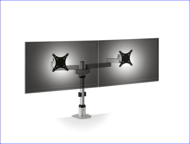 INNOVATIVE DUAL MONITOR STAND #9124-FM EURO. ADD TO CART FOR FREE SHIPPING.</b></font>