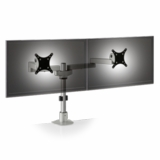 """DUAL MONITOR STAND #9163-S-14-FM. POSITION TWO 28"""" MONITORS SIDE BY SIDE. ADD TO CART FOR FREE SHIPPING."""
