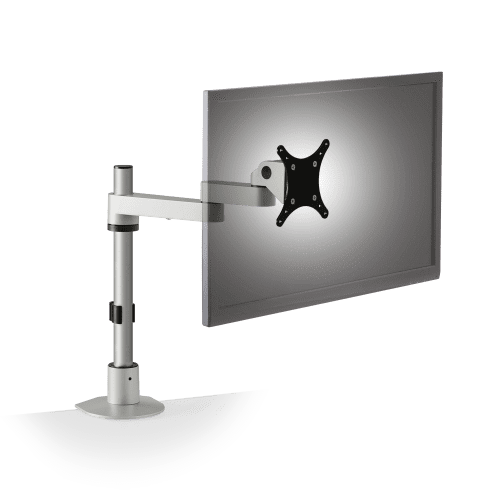 "INNOVATIVE MONITOR STAND ADJUSTS VERTICALLY AND EXTEND 14"" #9112-S-14-FM: <font color=#c60><b>ADD TO CART FOR FREE SHIPPING.</font></b> </b></font>"