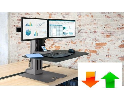 INNOVATIVE WINSTON ELECTRIC TRIPLE MONITOR STAND #WNSTE-3-270. <font color=#c60><b>ADD TO CART FOR FREE SHIPPING.</font></b> </font></b>