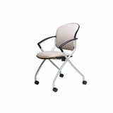 LINK NESTING CHAIR WITH ARMS FROM ERGONOMIC HOME. MODEL #EHRFM-LINK-150.