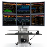 MASTER YOUR MONITORS W/MONITOR STANDS AND ARMS FROM ERGONOMICHOME.com
