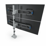 MONITOR STANDS AND ARMS: SINGLE, DUAL, TRIPLE, QUAD AND MULTIPLE MONITOR APPLICATIONS